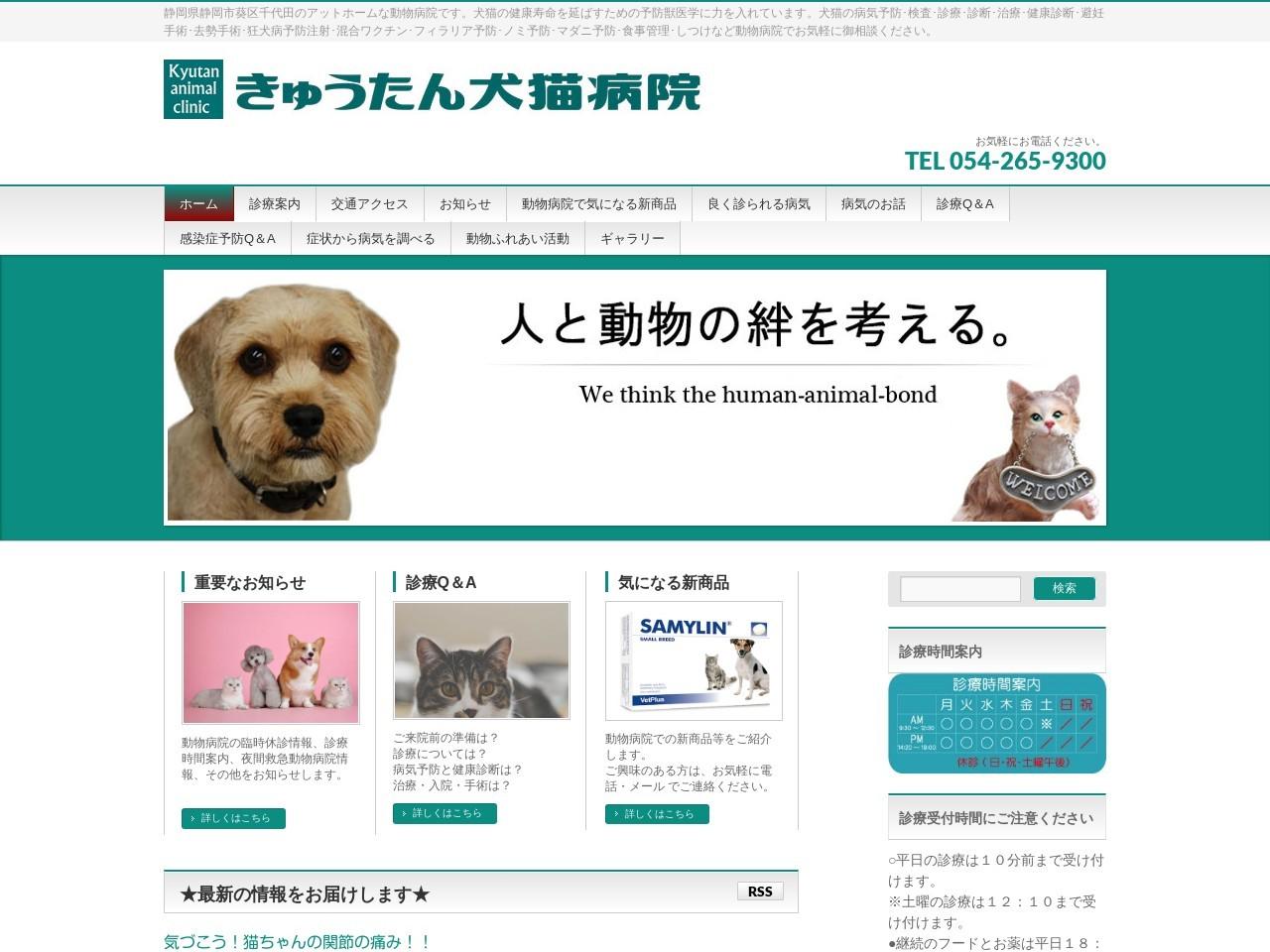 きゅうたん犬猫病院