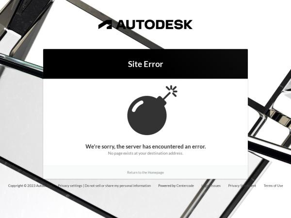 Screenshot of labs.autodesk.com
