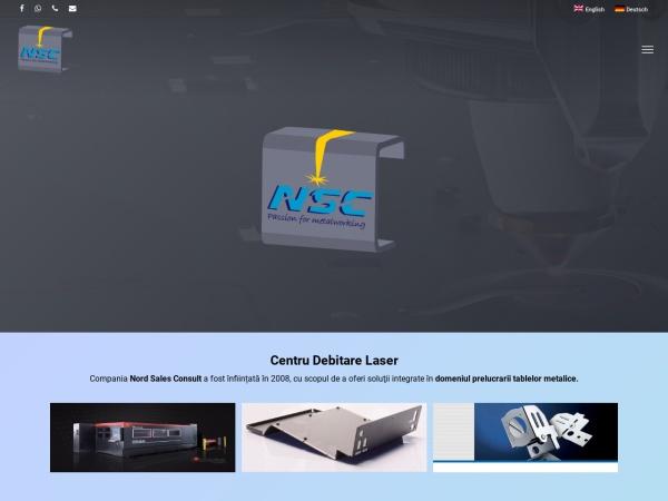 Screenshot of laser-nsc.ro