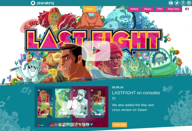 Screenshot of lastfightgame.com