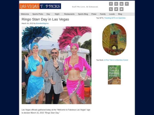 http://lasvegastoppicks.com/ringo-starr-day-in-las-vegas/