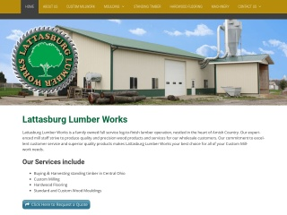 Lattasburg Lumber Works Website