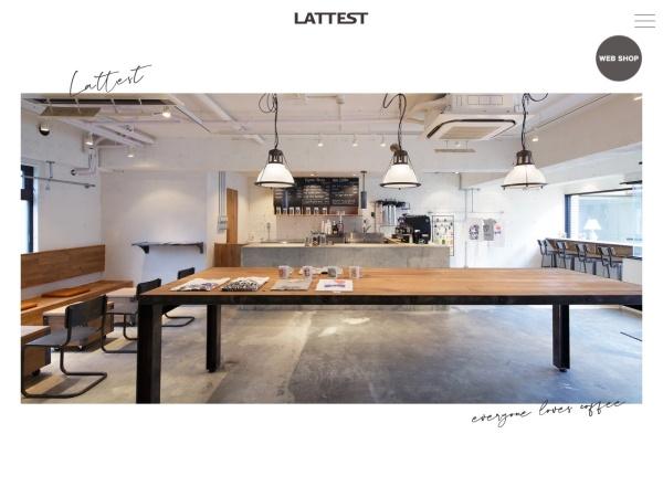 Screenshot of lattest.jp