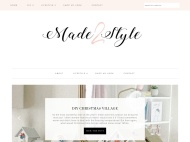 Misty Lake WordPress Theme example