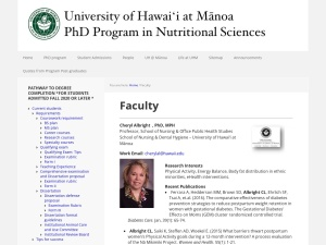 http://manoa.hawaii.edu/ctahr/nutritionPhD/faculty/
