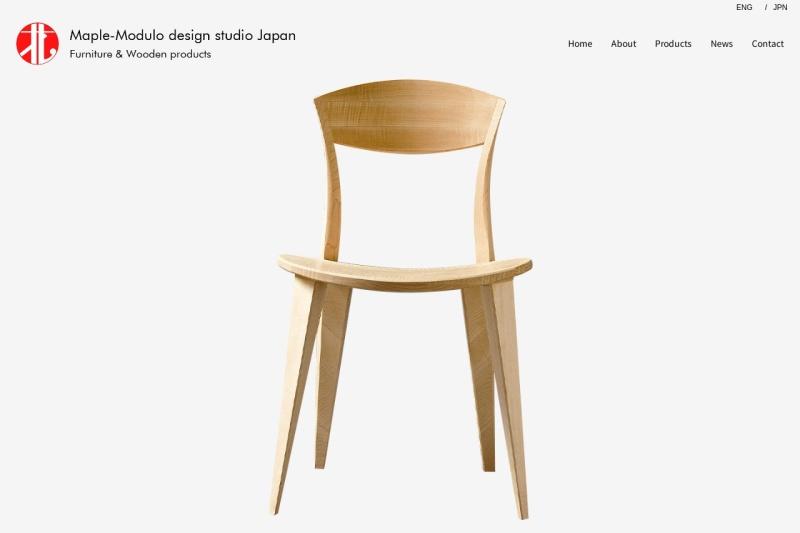 Screenshot of maple-modulo.jp