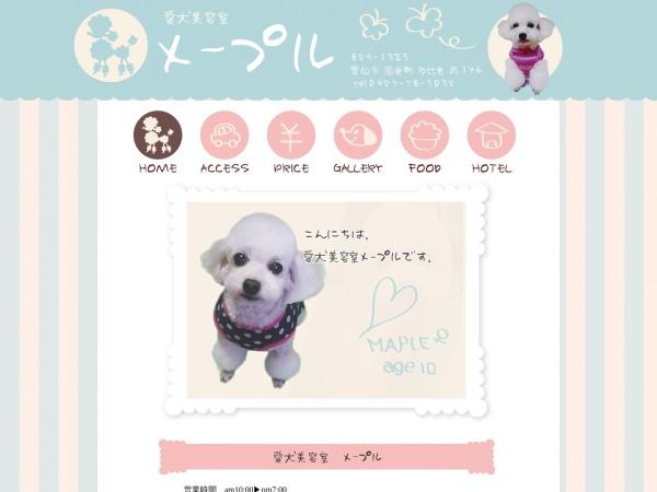 Screenshot of maple.secret.jp