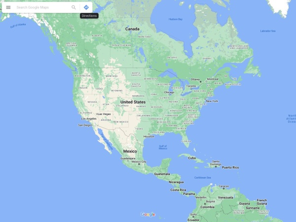 Captura de pantalla de maps.google.es