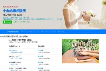Screenshot of marriage-agency.jp