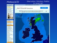 Screenshot of meteociel.fr