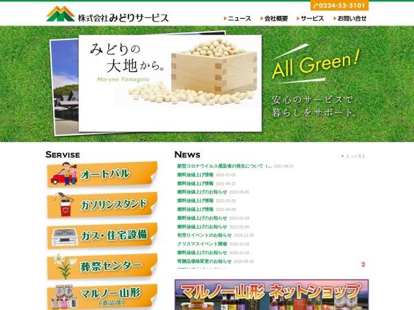 Screenshot of midori-sv.com