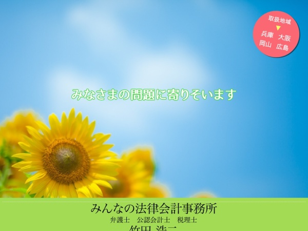 Screenshot of minna-law.com