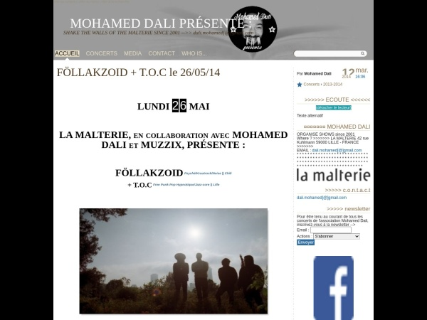 Screenshot of mohamed.dali.free.fr