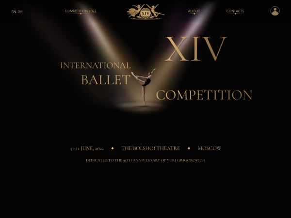 Screenshot of moscowballetcompetition.com