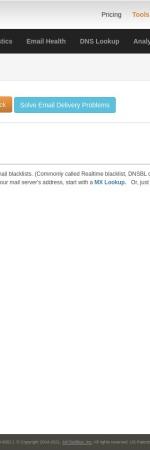 http://mxtoolbox.com/blacklists.aspx