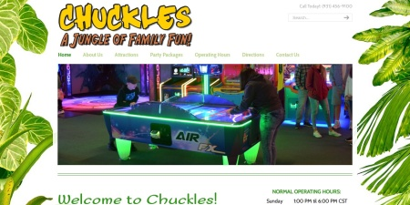 Screenshot of mychuckles.com