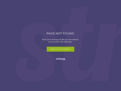 Screenshot of nagahamaru.strikingly.com