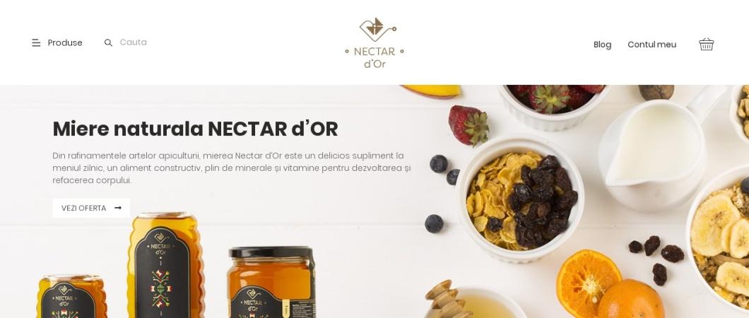 Screenshot of nectardor.ro