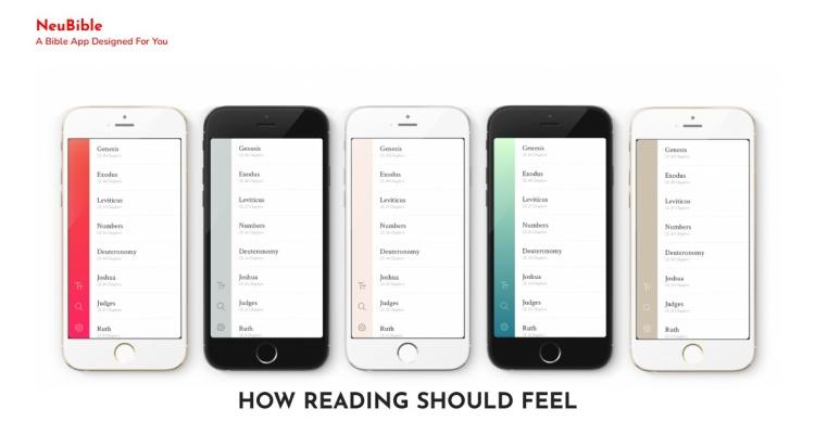NeuBible. A Bible app designed for you