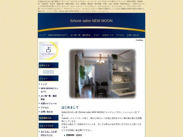 Screenshot of new-moon.co.jp