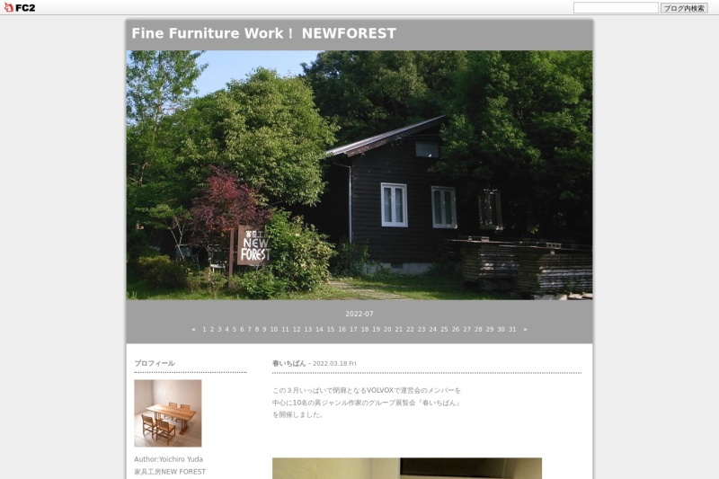 Screenshot of newforest4160.blog.fc2.com