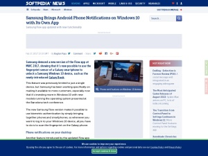 http://news.softpedia.com/news/samsung-brings-android-phone-notifications-on-windows-10-with-its-own-app-video-513359.shtml