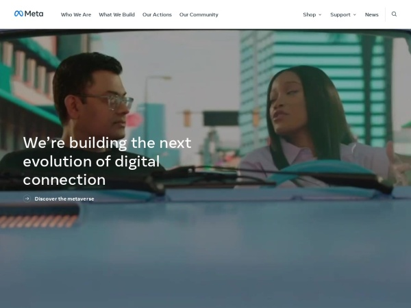 Screenshot of newsroom.fb.com