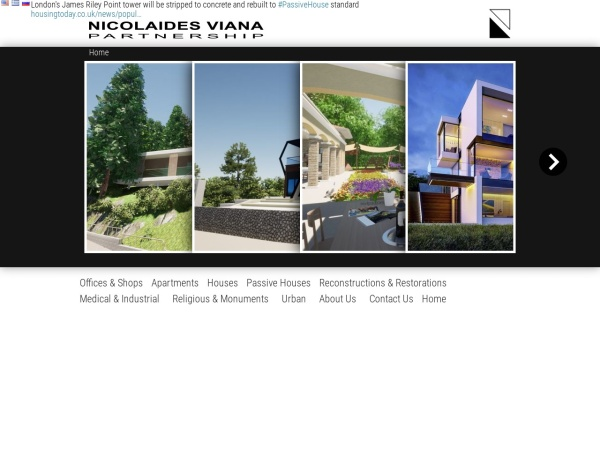 Screenshot of nivipa.com