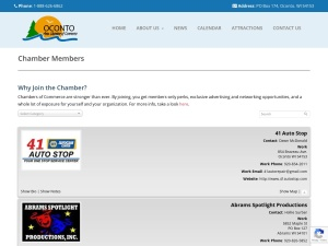 http://ocontoareachamber.com/newsandmembers/chamber-members/