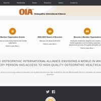 Screenshot of oialliance.org