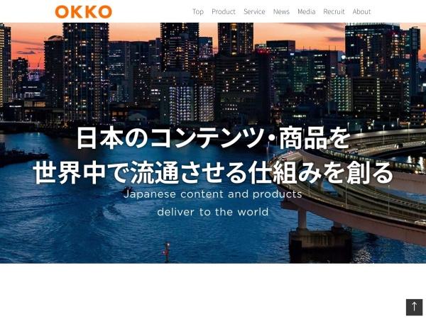 Screenshot of okko.jp