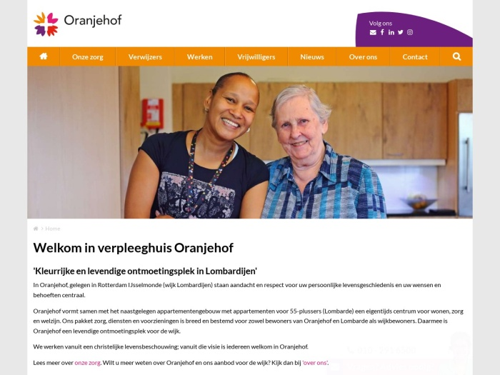 http://oranjehof.leliezorggroep.nl/