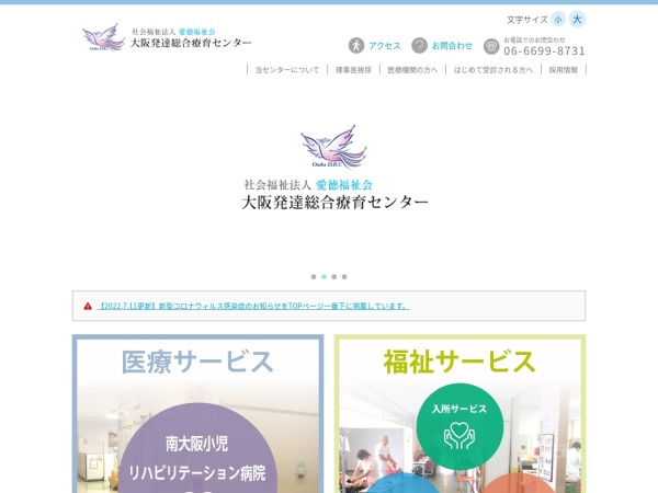 Screenshot of osaka-drc.jp