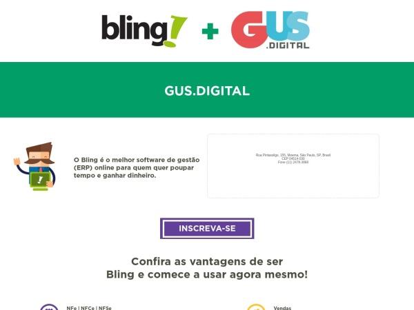 Screenshot of parceiro.bling.com.br