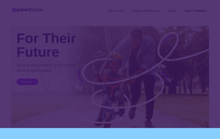 Screenshot of parentinfo.org