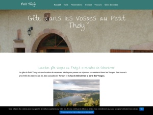 Location Vosges grande capacité au Tholy
