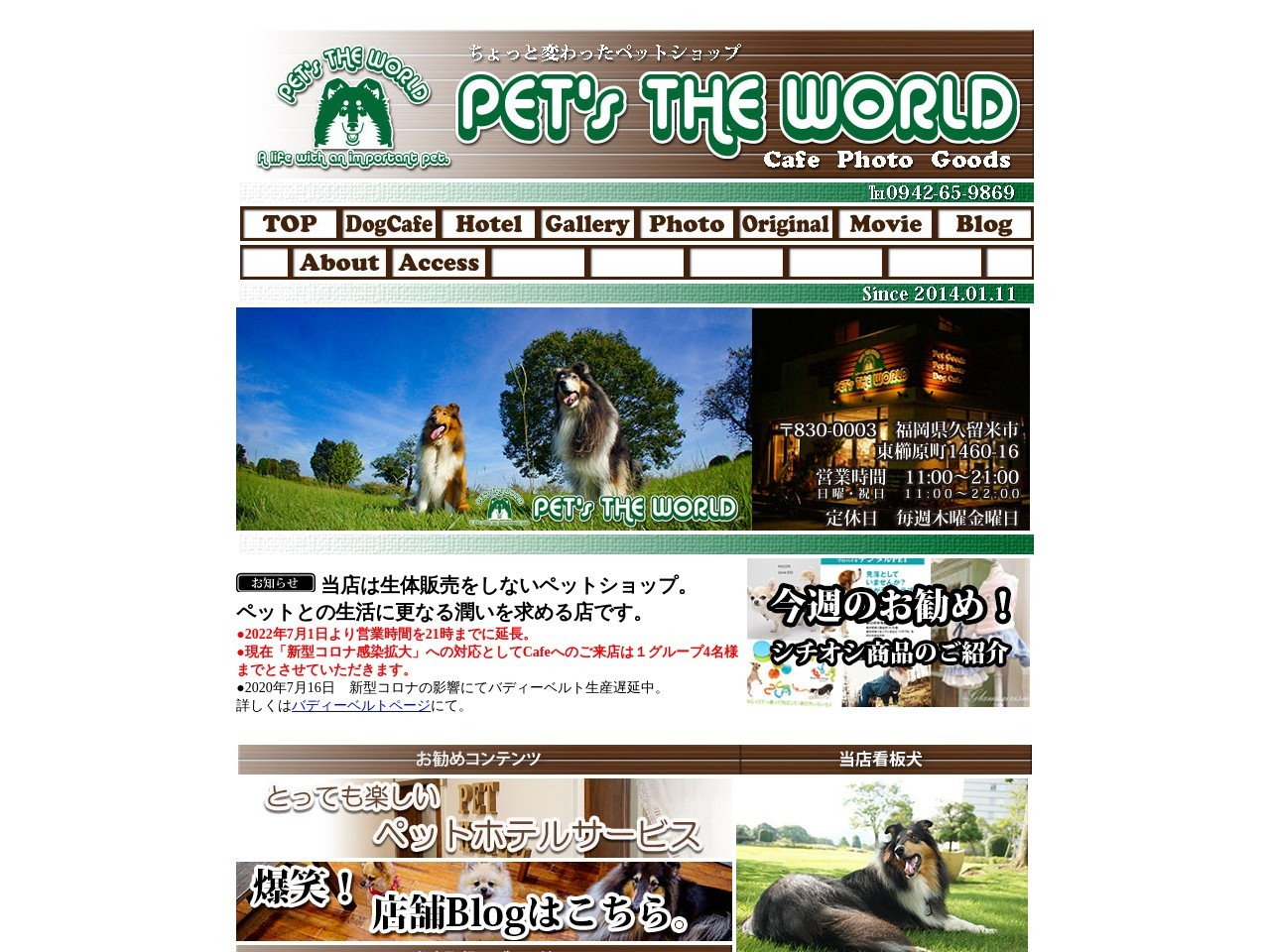 ペッツ(PET.s)THEWORLD