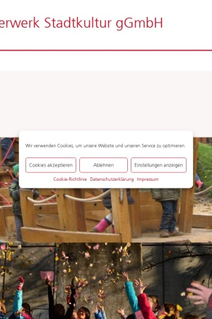 Screenshot of pfefferwerk.de
