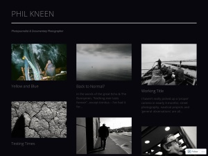 Phil Kneen Photography using the Gridspace WordPress Theme