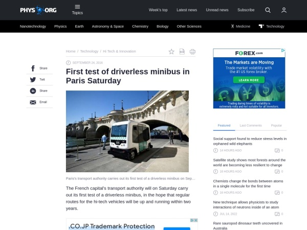 http://phys.org/news/2016-09-driverless-minibus-paris-saturday.html