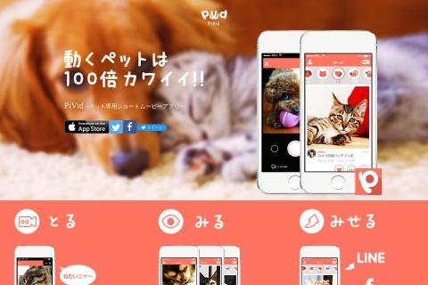Screenshot of pivid.jp