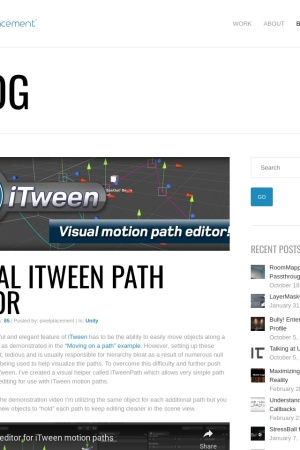 http://pixelplacement.com/2010/12/03/visual-editor-for-itween-motion-paths/