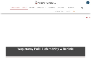 Screenshot of polkiwberlinie.de