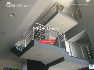 Screenshot of profilmont.ba