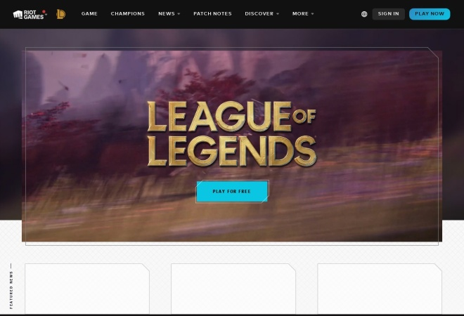 Screenshot of promo.na.leagueoflegends.com
