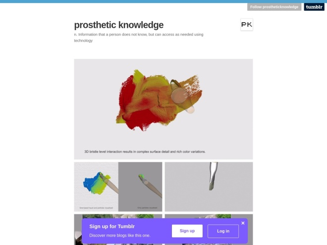 http://prostheticknowledge.tumblr.com/post/131579383976/wetbrush-gpu-based-3d-painting-computer-graphics
