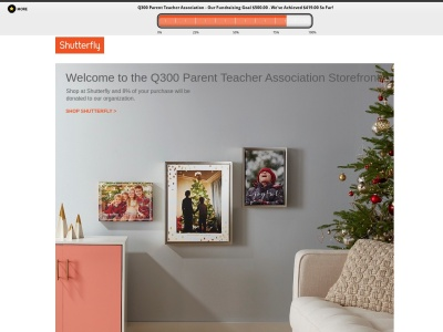 Screenshot of q300pta.shutterflystorefront.com