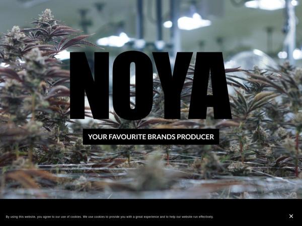 Screenshot of radiclecannabis.ca