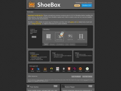 http://renderhjs.net/shoebox/