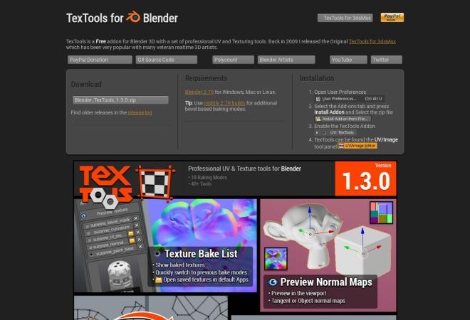 Screenshot of renderhjs.net
